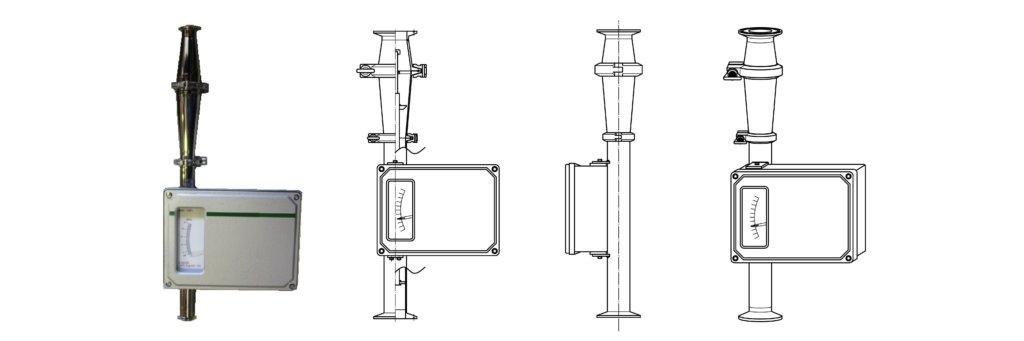 FK-MBD-S1 series(全金属サニタリー接続流量計)