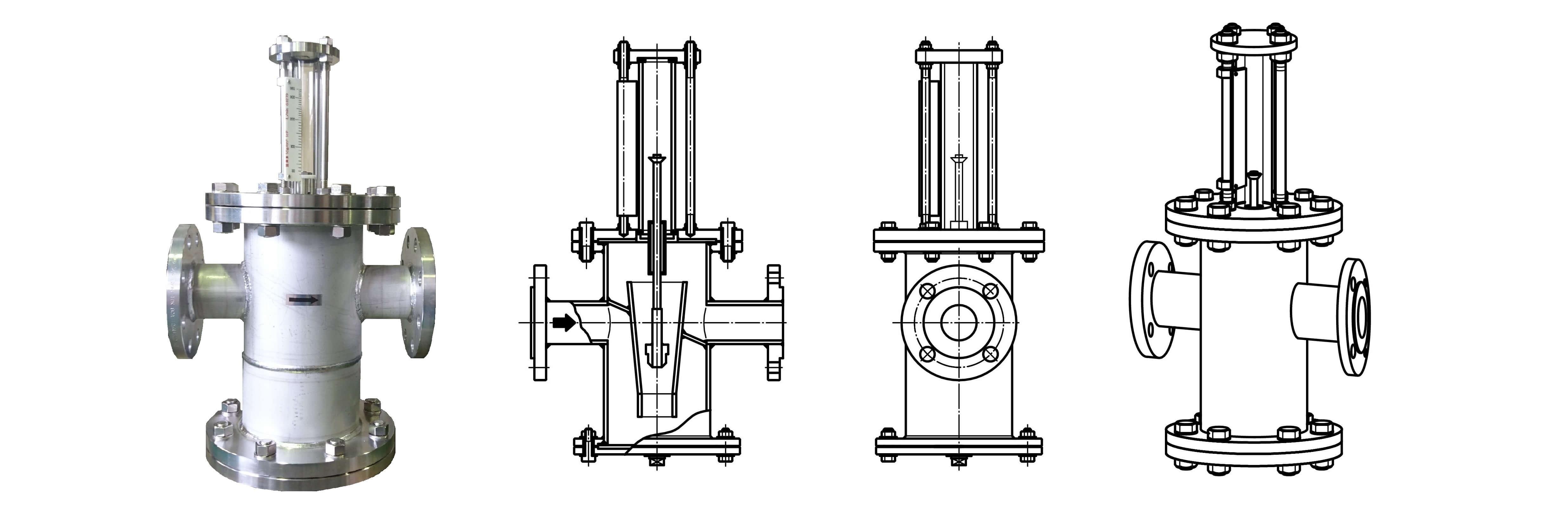 FK-H series(水平配管流量計)