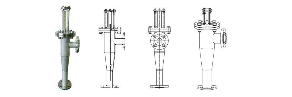 FK-M series(金属管流量計)