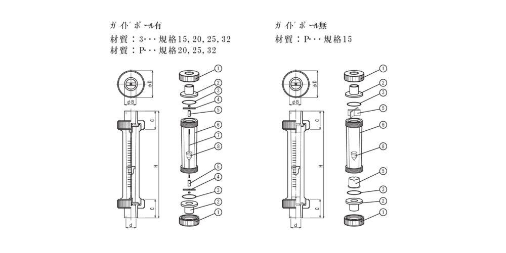 FK-AV分解構造図面