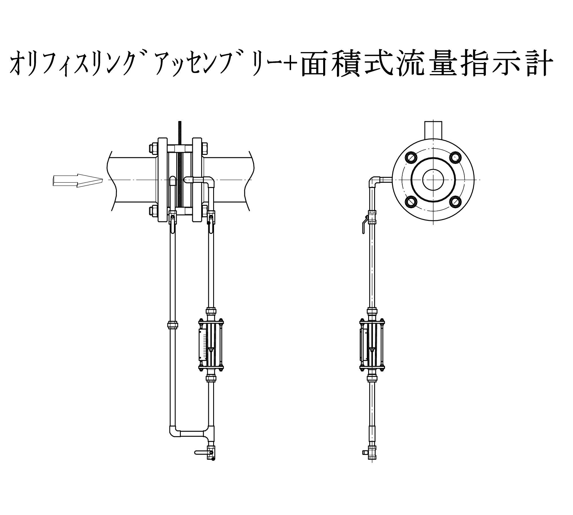FK-BFAU-OR配管図