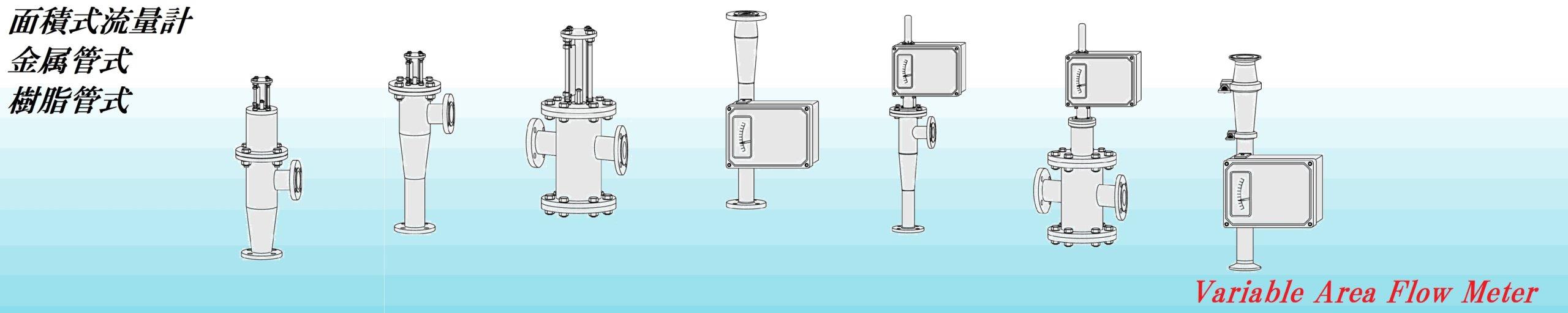 金属管式流量計